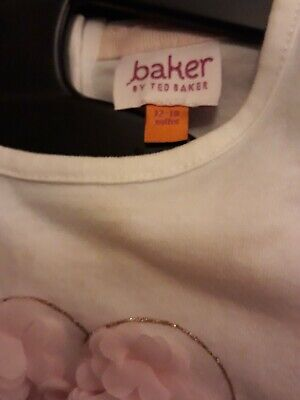 Ted Baker, girls 2 piece leggings outfit, size 12 - 18 months