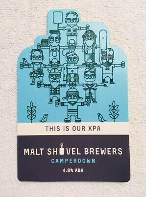 MSB Malt Shovel Brewery 'This is our XPA'  Tap Beer Decal Mancave Badge Top