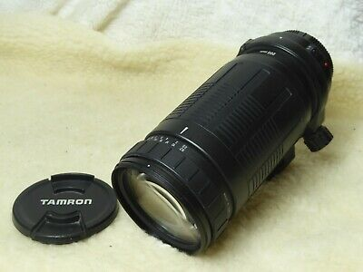 CANON ef  digital FIT  Tamron AF LD IF 200-400 mm f/5.6 Lens + tripod mount.