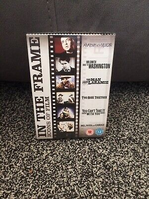 James Stewart - In The Frame Collection (DVD, 2007, 6-Disc Set, Box Set)