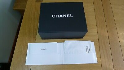 Genuine Chanel shoes/gift magnetic flap box, booklet, tissue paper (9)