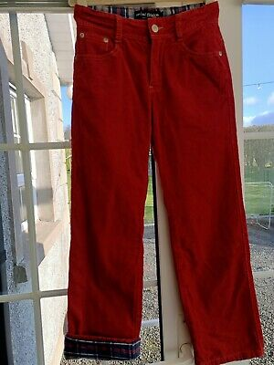 Boys Mini Boden Cord Trousers Age 9 Years