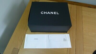 Chanel shoes/gift flap magnetic box tissue paper booklet (12)