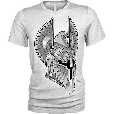 Full Armor T-Shirt spartan helmet warrior knight Unisex Mens