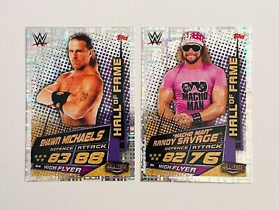 Topps Slam Attax WWE Universe Hall of Fame High Flyer