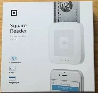 Brand New Square Reader for Contactless + Chip Free Shipping