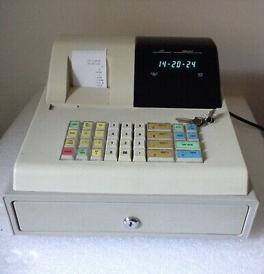 ELITE CR101 Electronic Cash Register With 57mm X 57mm 1Ply Till Rolls