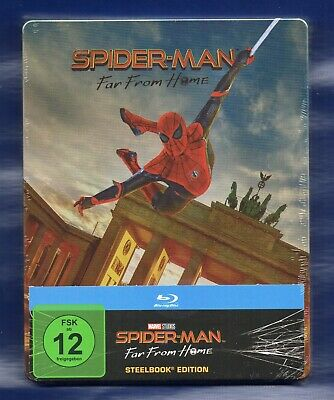Spider-Man: Far From Home - Blu-ray Steelbook - NEU/OVP