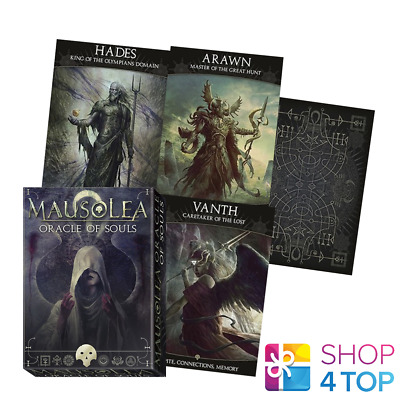 Mausolea: Oracle Of Souls Deck Cards Esoteric Fortune Telling Lo Scarabeo New