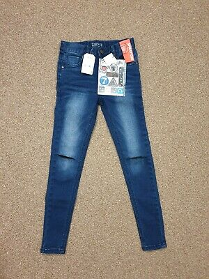 Nice boys BNWT Next jeans with stickers. Size 9 years old. W 21/L 24.