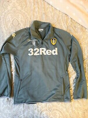 Leeds United Player Medium Grey Long Sleeve Top