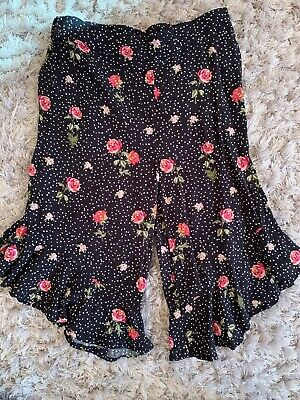 Next Floral Cropped Trousers 3