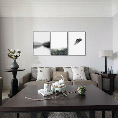 Modern Nordic Minimalist Forest Canvas Art  Print Wall Picture Home Decor