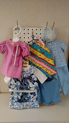 "18"" Journey Girls - Lot #2 Blue Summer Outfits by Dressmaker - 11 pieces"
