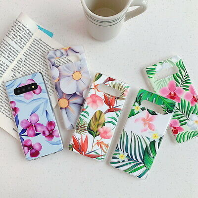 For Samsung Galaxy Note 10 Plus S8 S9 S50 Luxury Flower Soft Silicone Cover Case
