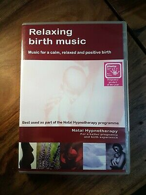 Relaxing Birth Music Audio CD Natal Hypnotherapy