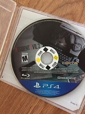 Resident Evil 2 - PlayStation 4 Disc Only PS4