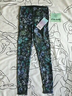 Ivivva by Lululemon Girls, Rhythmic Tight High Low Two,SIZE 14 ILLA/BLK LAST ONE