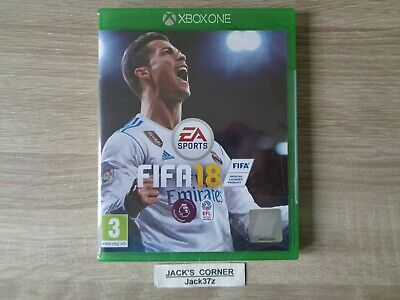 FIFA 18 Xbox One Game NEW & SEALED - 1st Class FREE UK POSTAGE