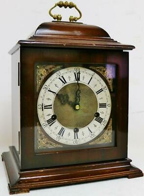 Antique Smiths 8 Day Westminster Chime Musical Caddie Top Mantel/Bracket Clock
