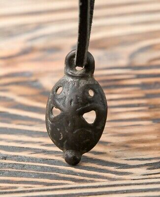 Ancient Pagan Pendant c. 9th-11th Century AD, Primitive Necklace, Authentic