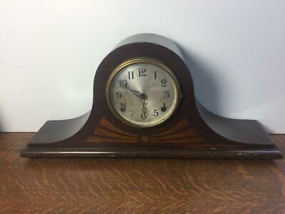 Antique Vtg SESSIONS INLAY NO. 2 Mantle Clock Untested No Key For PARTS REPAIR