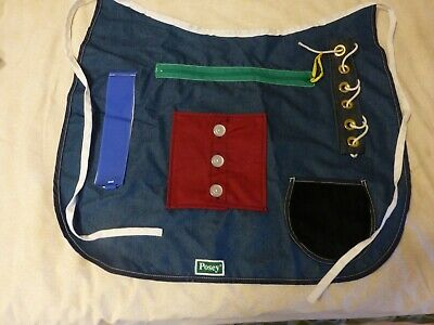POSEY Adult Cognitive Therapy Multi Activity Apron Dementia Alzheimers #7400