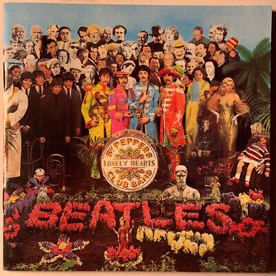 The Beatles Sgt. Pepper's Lonely Hearts Cd Parlophone 1987 Usa Press Near Mint