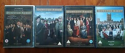 Downton Abbey Dvds X 4 including Christmas & The Finale