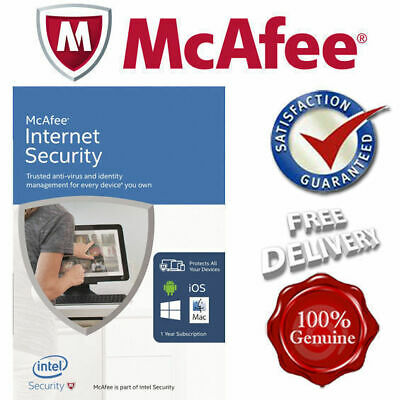 *SEALED* McAfee Antivirus Plus (Security) 2020 Unlimited Devices PC/Mac/Android