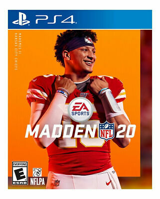 Madden NFL 20 PS4 (Sony Playstation 4) Brand New Factory Sealed Ships Nov. 29th