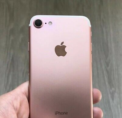 Apple iPhone 7 - 128GB - Rose Gold - (Unlocked) - Superb Condition