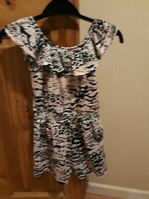 Girls River Island Playsuit Size 5 To 6 worn once