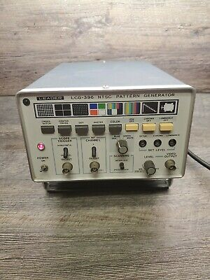 Leader LCG-396 NTSC Pattern Generator Test equipment, TESTED WORKING