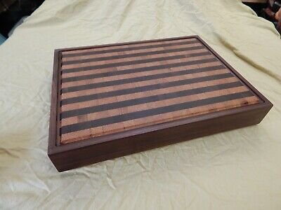 Cutting Board, Chopping Block, Large, End Grain, Hand Made by Disabled Veteran
