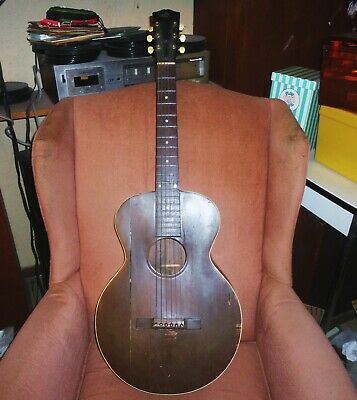 Vintage 1920's Gibson  Acoustic Guitar