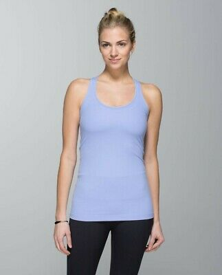 LULULEMON Lavender Cool Racerback Tank Size 6 US/10-12 UK, Yoga/Gym/Run/Fitness