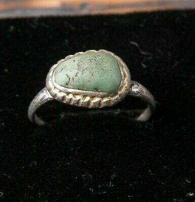 Authentic Medieval Silver Ring, ca.16th Century AD Antique Ring, Ancient Jewelry