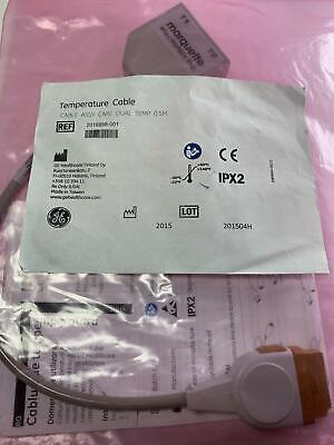 GE HealthCare Temperature Adapter Cables. REF. 2016998-001