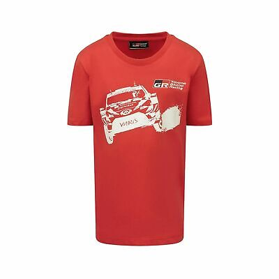 F1 2019 Toyota Gazoo Racing WRT Kids' Car T-Shirt Red size L (kids)