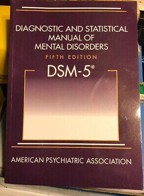 DSM-5 Diagnostic and Statistical Manual of Mental Disorders ***Like New***