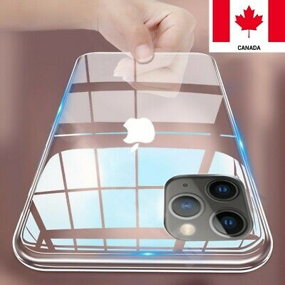 For iPhone 11 Pro Max XS Max Shockproof Crystal Clear Flexible Slim Cover Case