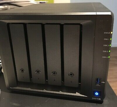 Synology DiskStation DS918  4 Bays NAS S918   4 Bays NAS