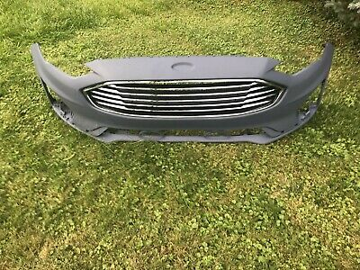 2019  2020 ford fusion front bumper cover w/ grille new