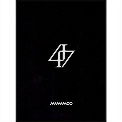 Mamamoo - Reality In Black (2nd Album) CD+Lenticular Card+Photocard SEALED NEW