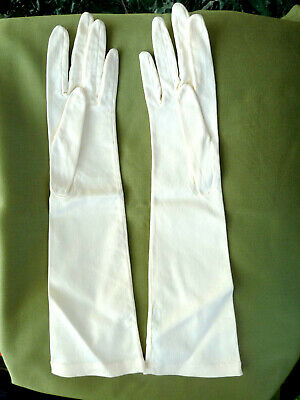 Collector - gants CHRISTIAN DIOR  - taille = 7 1/2 - neufs - color ivoire
