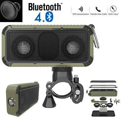 40W Portable Wireless Bluetooth Speaker Waterproof Stereo Bass Loud AUX MP3 UK