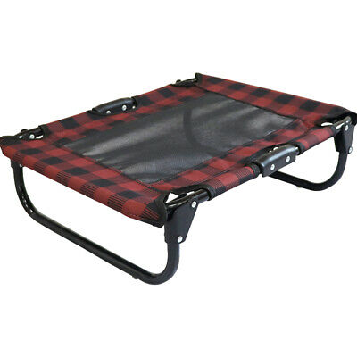 Elevated Pet Bed Dog Cat Cot Portable Raised Cooling Camping Pet Cozy Lounger