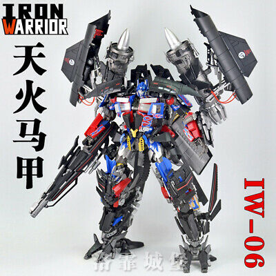 Transformers LgendaryToys Optimus OP column LT03 with rich weapon accessories