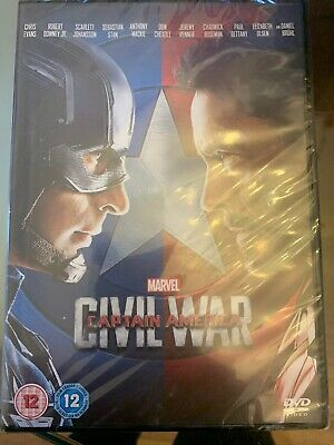 Civil War DVD (Captain America / Marvel) new & sealed.